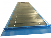 Schwerlast - Plattenbandförderer Hubtec - Sonderbau
