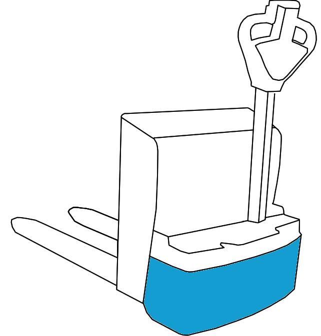 Niederhubwagen