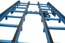Kettenförderer 4-strangig mit 1 Motor Bild 2