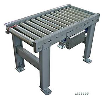 Fördertechnik: Rollenbahn angetrieben bis 150 kg/m
